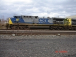 CSX 460 heads the CSX Q285 WB